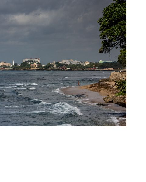 Vista de Santo Domingo, República Dominicana