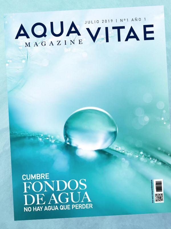 Primera edición de la revista Aqua Vitae, lanzada en la Cumbre de los Fondos de Agua de América Latina