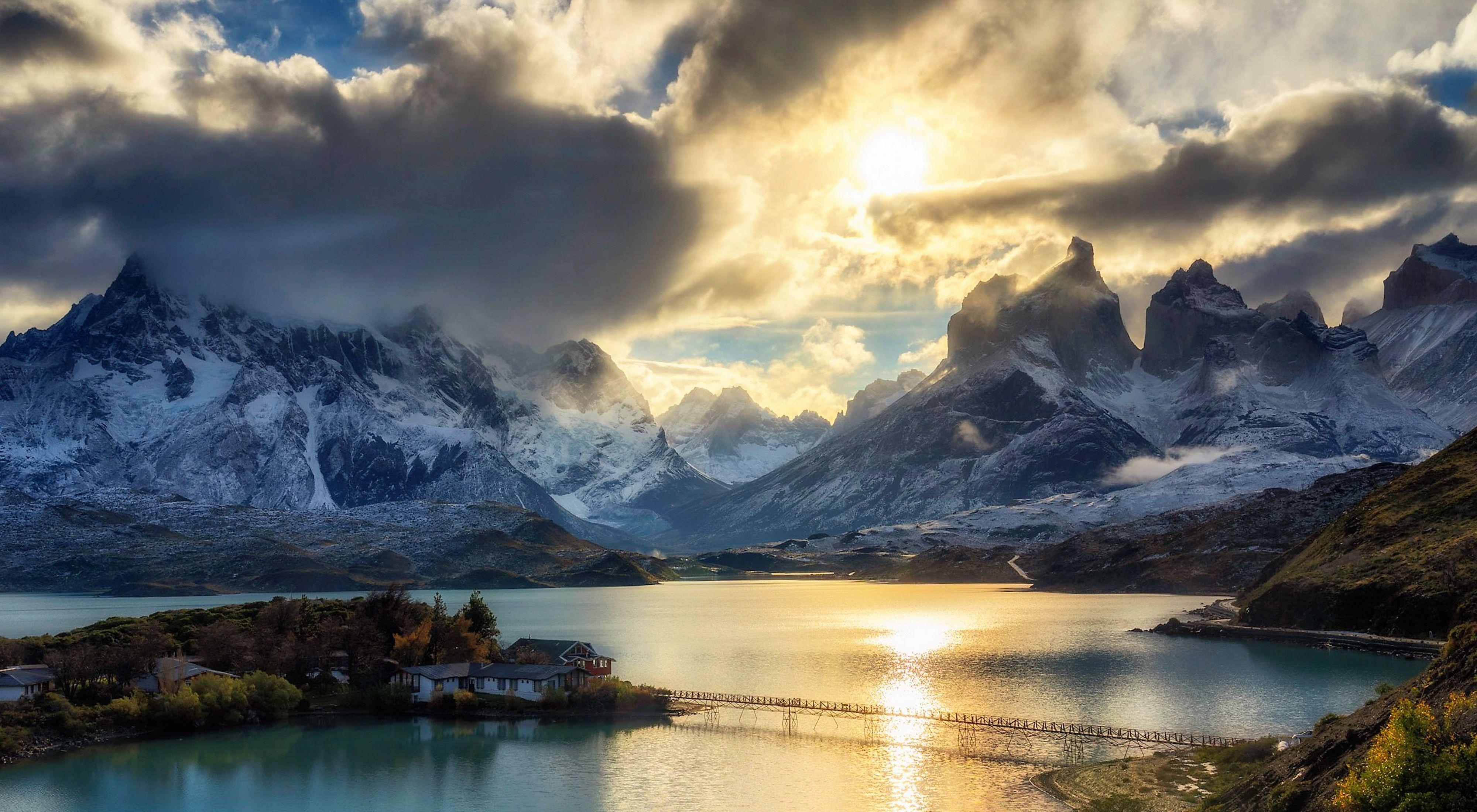 Foto tomada en el parque nacional Torres del Paine, Chile