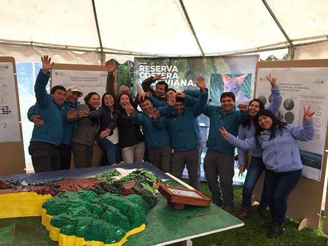Teamwork Valdivian Costal Reserve