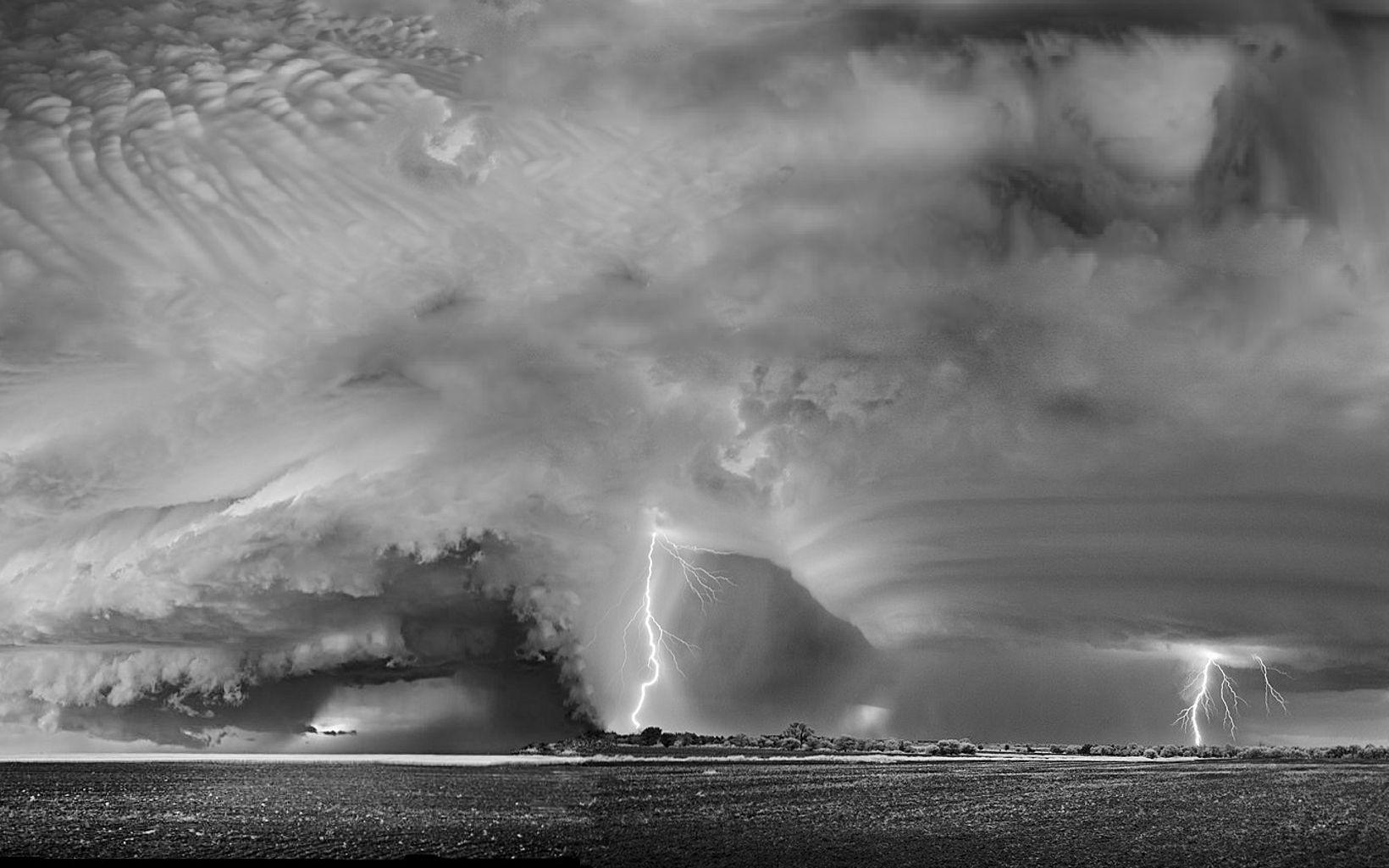 Tormenta de verano en Argentina