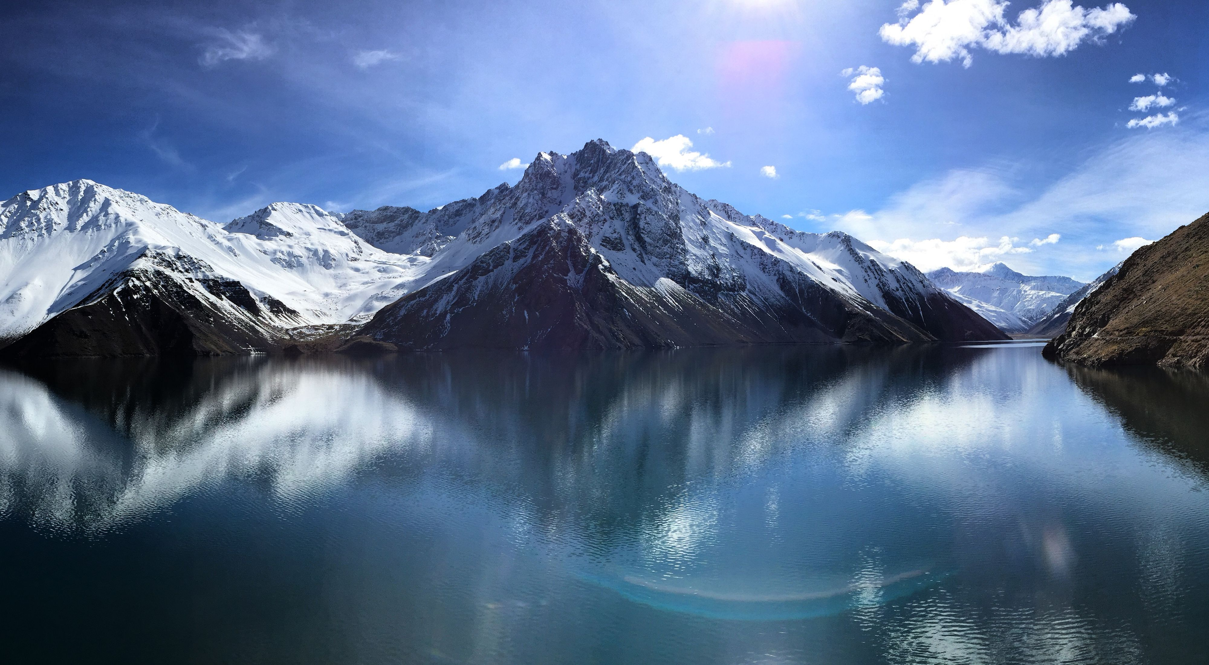 The Andes mountain