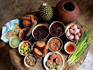 Yucatecan dishes made with ingredients from Maya garden