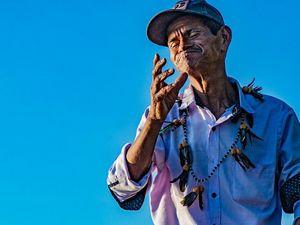 El promotor ambiental de la comunidad Coreguaje lleva más de 4 años consolidando su cultura en planes de manejo del territorio.
