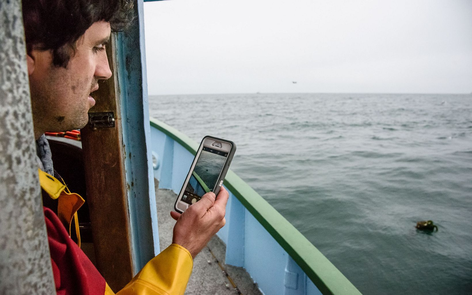 The Nature Conservancy developed a software tool that allows fishermen to use their smartphones to record the location of lost gear they find.