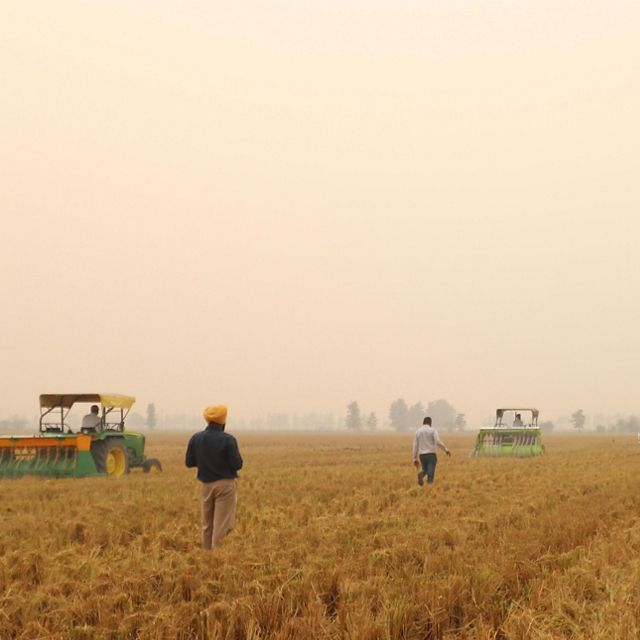 TNC is helping fight the choking smog that threatens peoples' lives by giving farmers an alternative to burning their fields when they prepare to plant new crops.