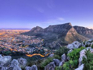 Cape Town, at dusk