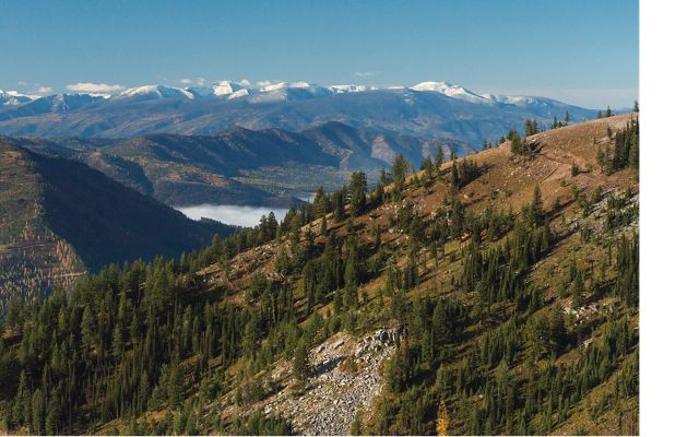 Wisherd Ridge, part of the Nature Conservancy's Great Western Checkerboards project in Montana.