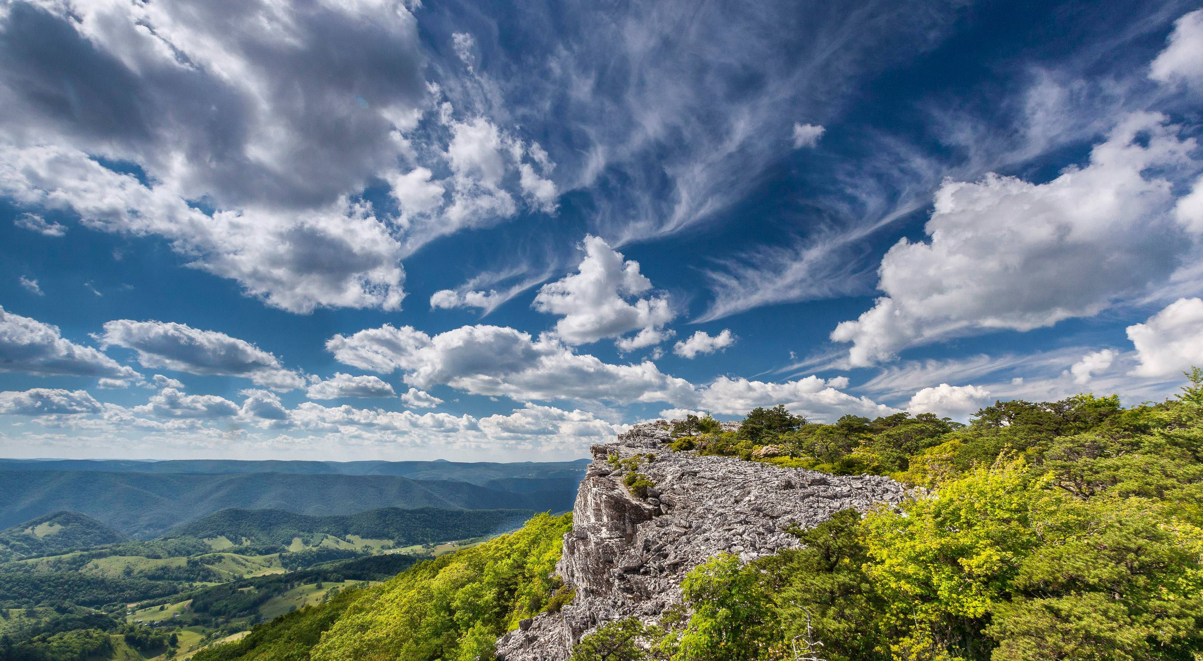 The Nature Conservancy's Panther Knob Preserve in West Virginia.