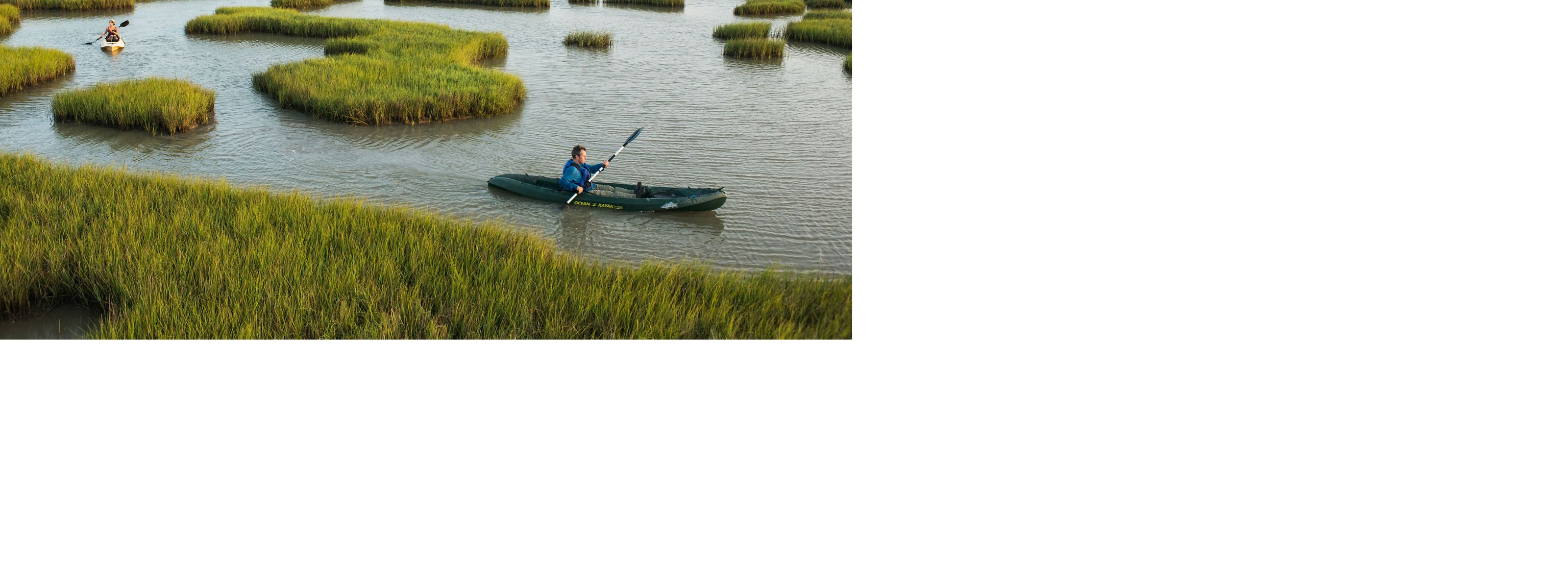 navigate the marshes of Powderhorn Ranch.