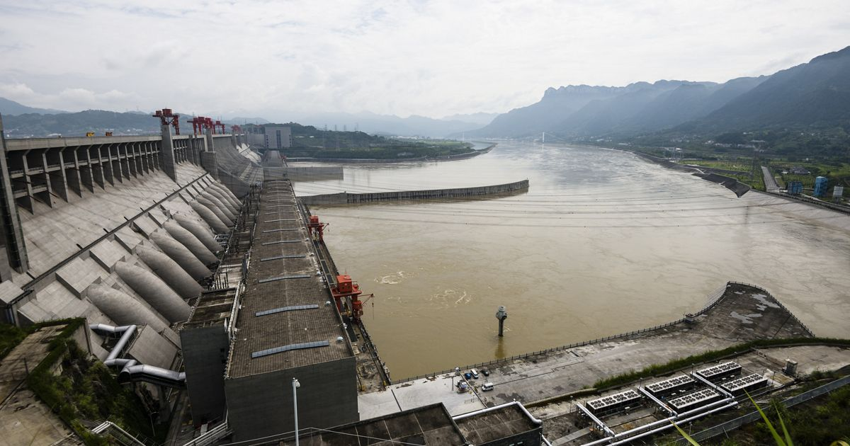 Three Gorges Dam, Yangtze River