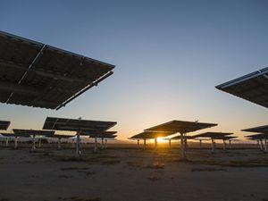 Solar panels, Antelope Valley