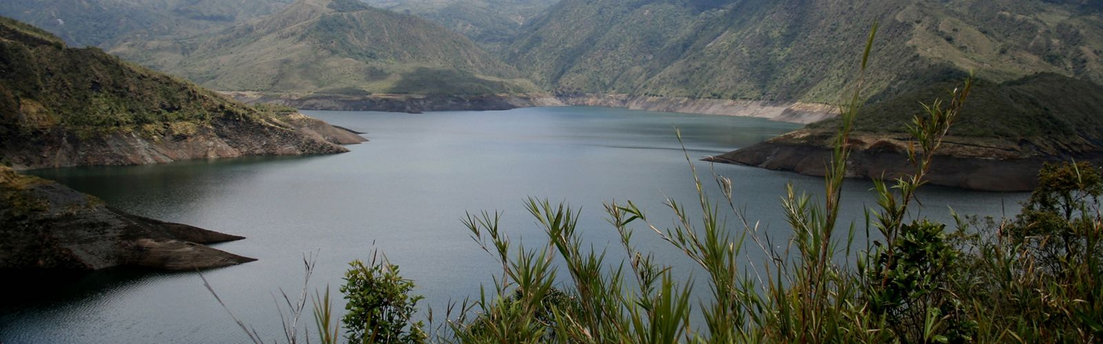 Water reservoir at Chingaza National Park, which is part of the Parks in Peril program. The Nature Conservancy is working with Fundaci?n Natura and other local partners to develop a site conservation plan, increase scientific knowledge about the park, promote environmental education in surrounding communitites and establish long-term, sustainable funding sources for the park.