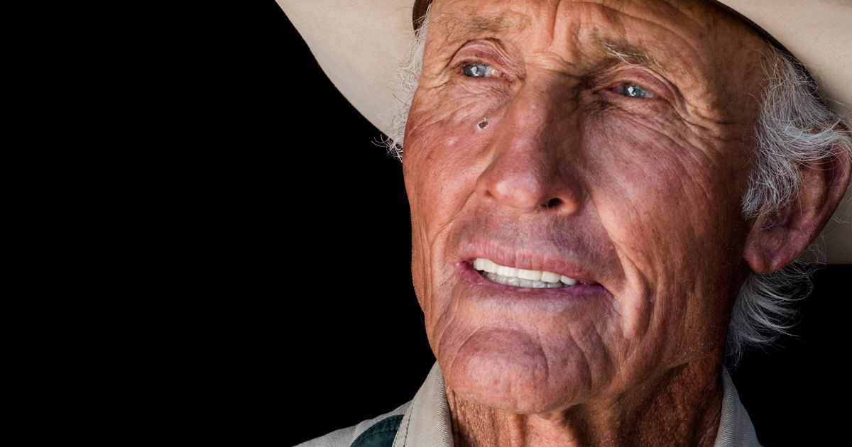 A portrait of Walter Glenn, who runs the Malpai Ranch