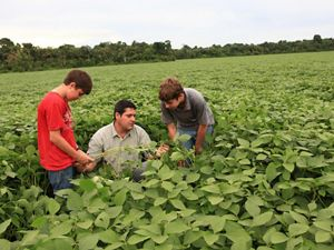 Pio Stefanello is one of the soy farmers working with the Conservancy in Santarem, in the state of Para, Brazil.