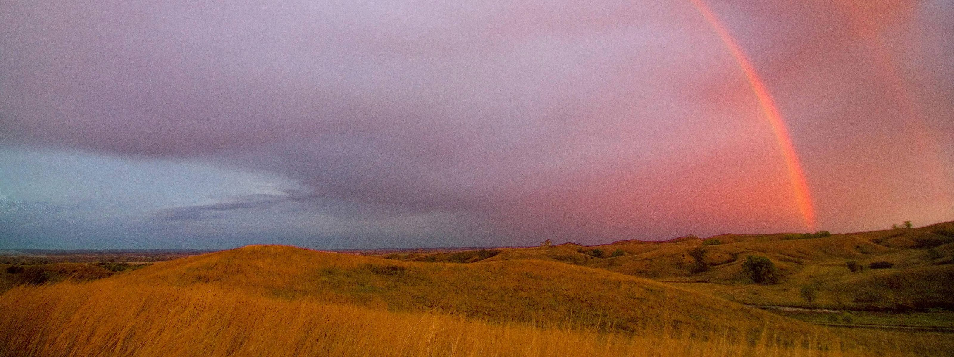 Loess Hills at Sunset - Folsom Point Preserve.