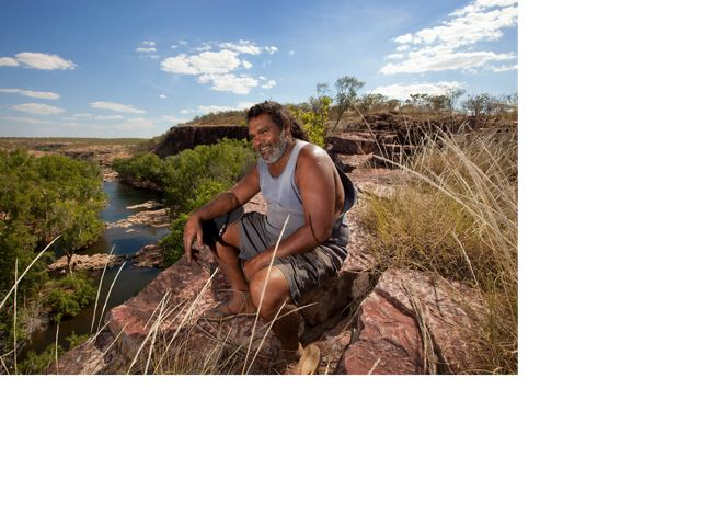 and The Nature Conservancy partner, at Fish River in Australia's Northern Territory.