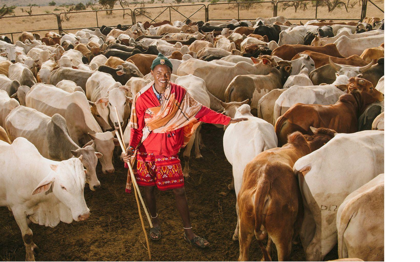 Kenyan rancher