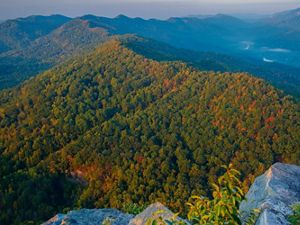 The Appalachian Mountains of Tennessee