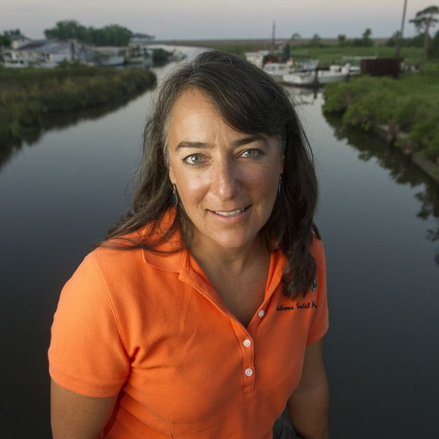 Marine and freshwater program director of The Nature Conservancy in Alabama.