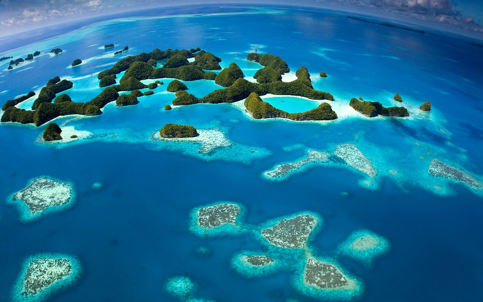 The coral reefs of Palau are part of a massive interconnected system that ties together Micronesia and the Western Pacific.