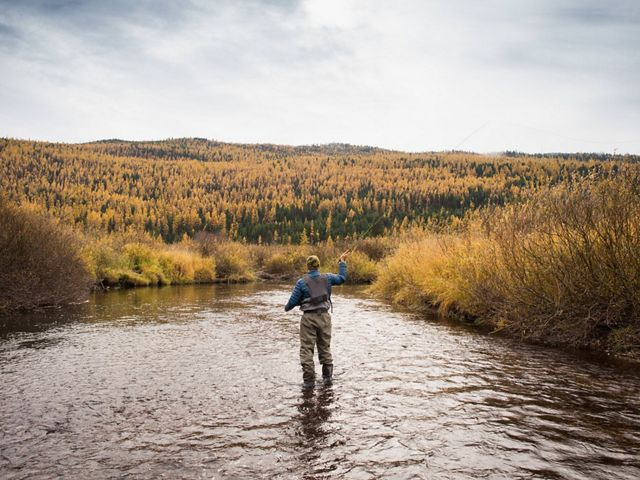 on the Clearwater River, part of The Nature Conservancy's Great Western Checkerboards Project in Montana