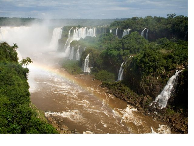Waterfalls at Iguaçu National Park, Brazil