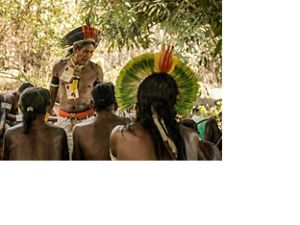 Indigenous People at the Kokraimoro village, Brazil