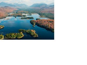 Boreas Pond Aerial view of Boreas Pond, New York.