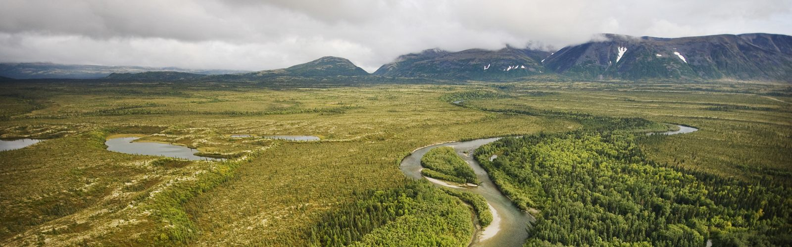 A river in Alaska's Bristol Bay headwaters.