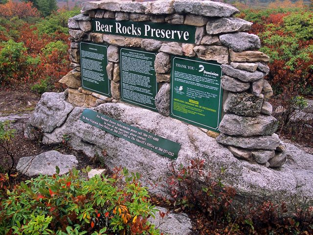 Bear Rocks Preserve
