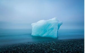 Iceberg along the coast of Iceland