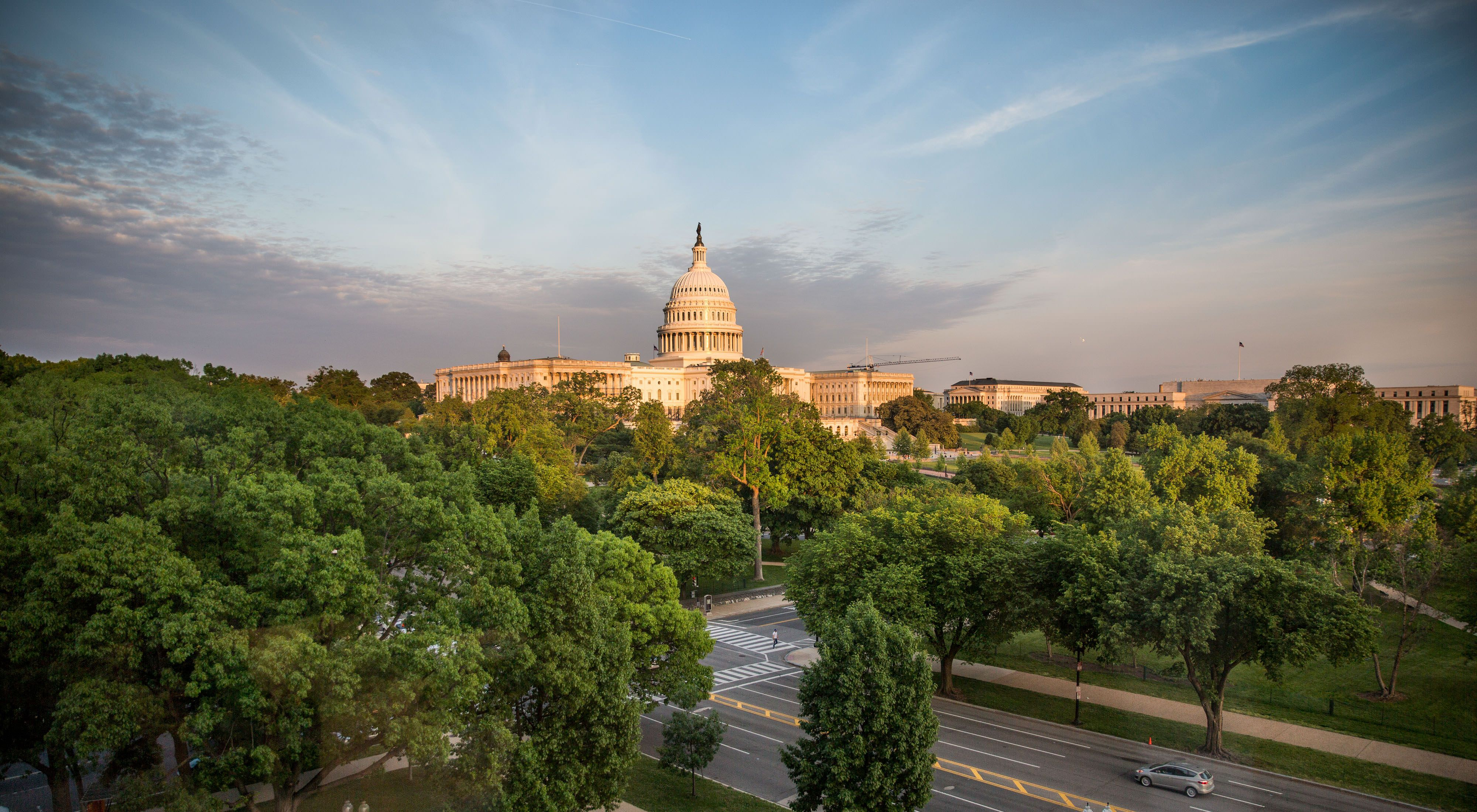 The United States Capitol in Washington, DC, USA.