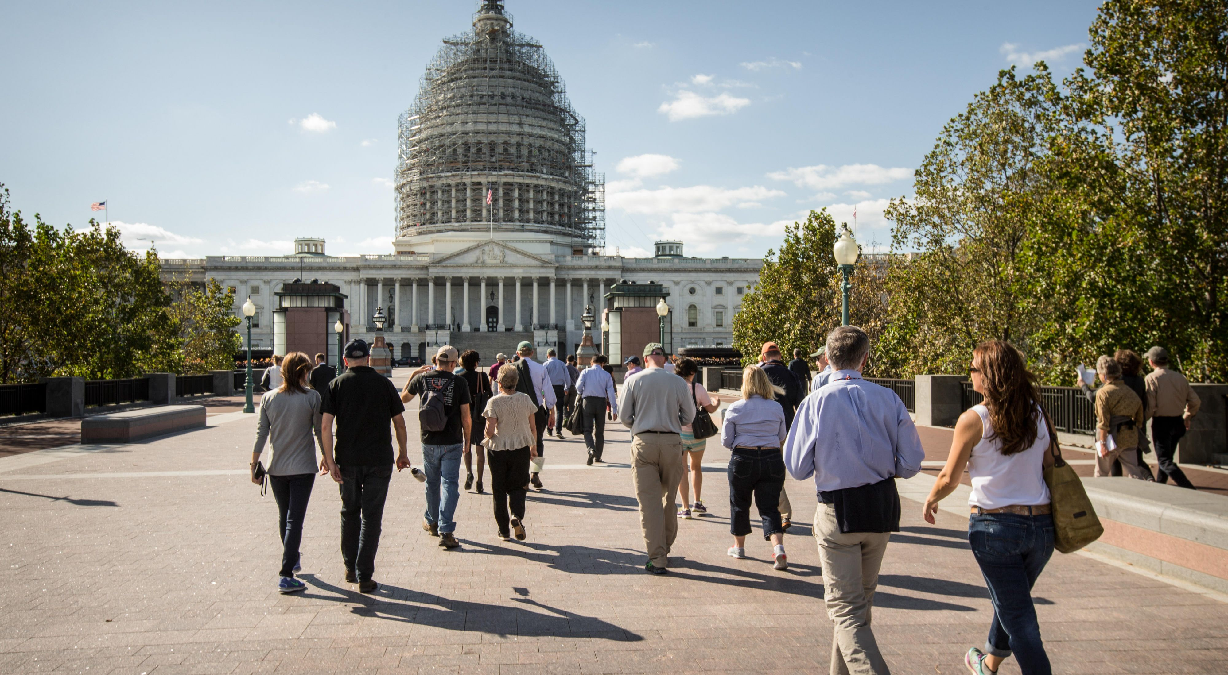 visited Capitol Hill last fall to discuss conservation issues with more than 100 members of Congress.