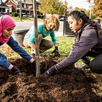 Engaging youth and urban communities in environmental stewardship now will inspire a new generation of leaders to tackle the challenge of making cities and communities sustainable places to live.