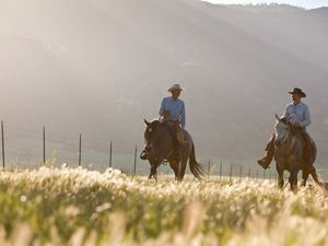 Bill and son Tom Parker sold their ranch's development rights to the Conservancy in 2008. Parker Ranch and two other holdings are part of 270,000 acres now protected.