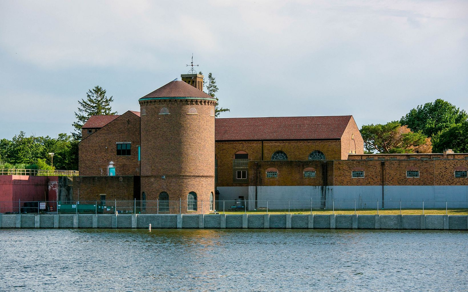 Lake Bloomington is a man-made lake used to supply water to residents of Bloomington, Illinois. Lake Bloomington was constructed in 1929 and has a Water Treatment Plant adjacent to it.