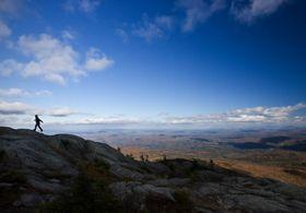 Hunger Mountain near Waterbury, Vermont.