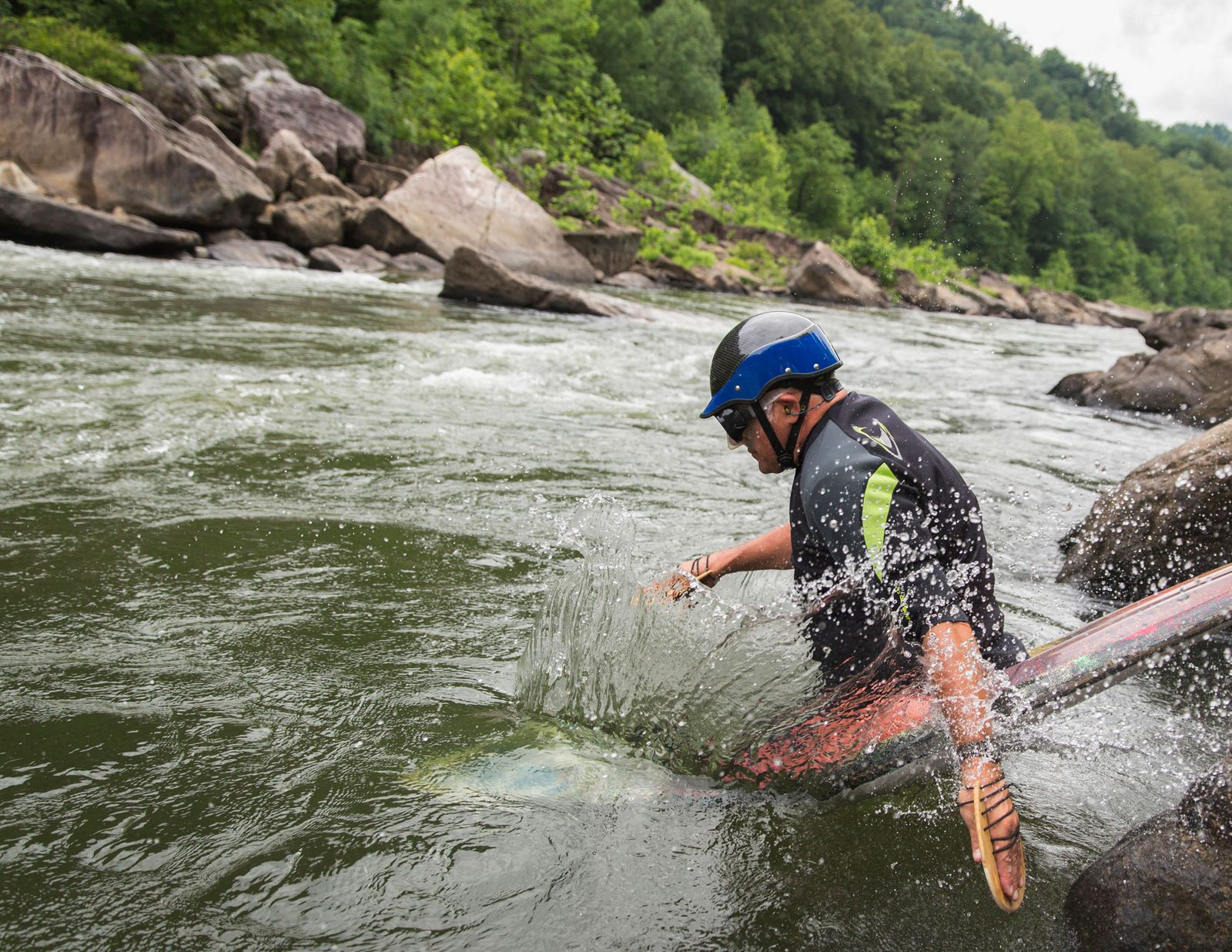 The Cheat River Takes a Turn