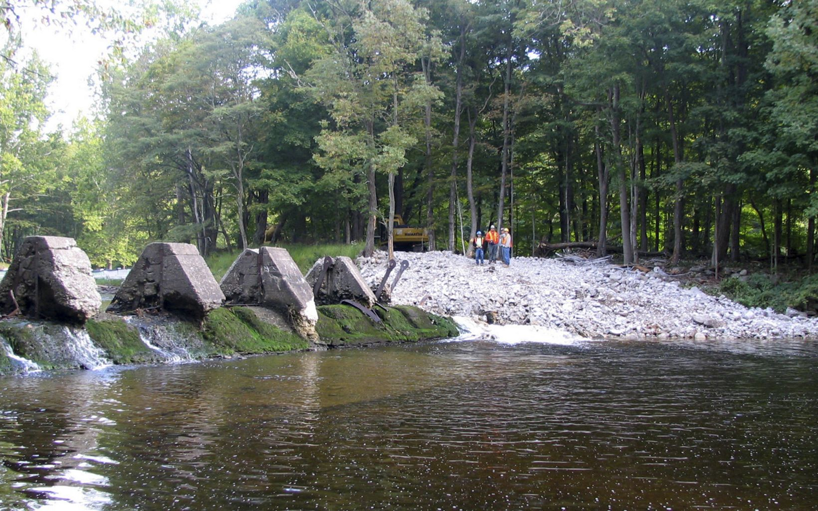 on the Neversink River