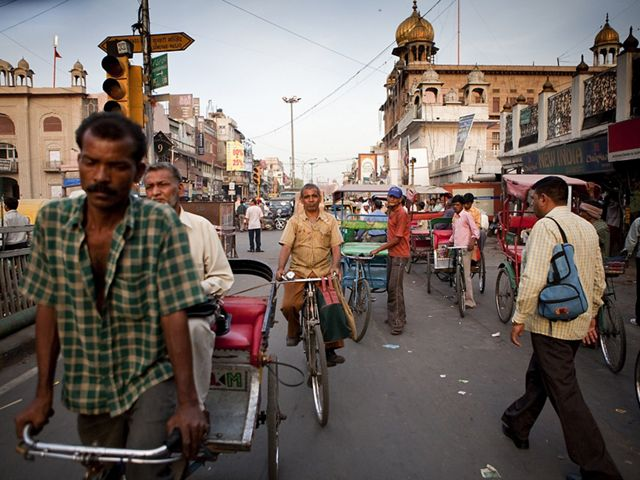 New Delhi, India. India is one of many countries that will have to balance improved energy access against the threat of sprawl.