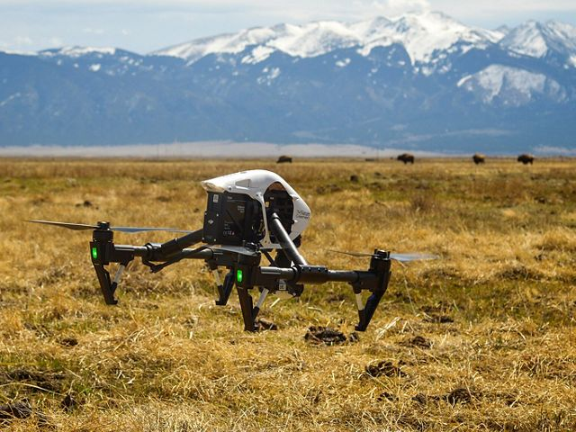 Drone exploration at Medano-Zapata Ranch in the San Luis Valley, CO.