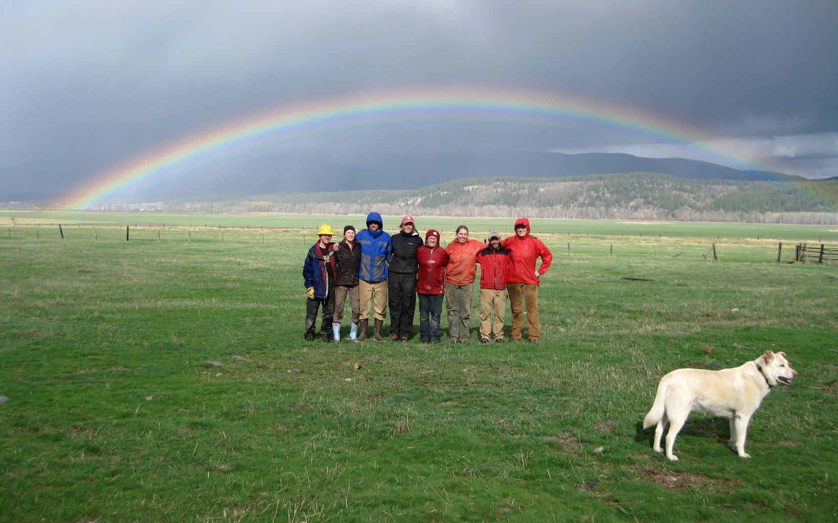 University of Idaho Ecology Club Workday at Ball Creek Ranch Nature Preserve in Idaho