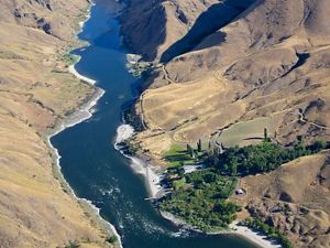 Hells Canyon is the deepest river gorge in the United States