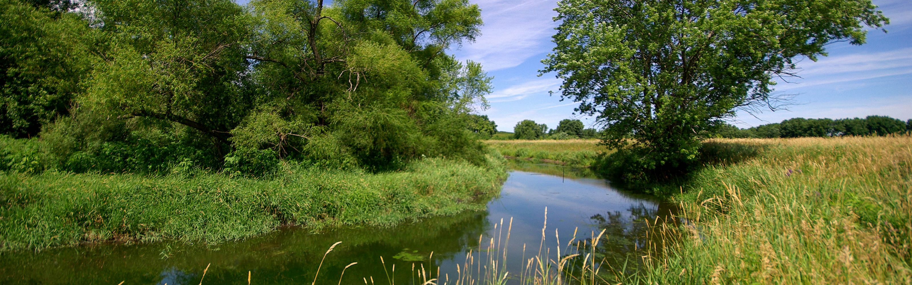 Oxbow located on the Boone River