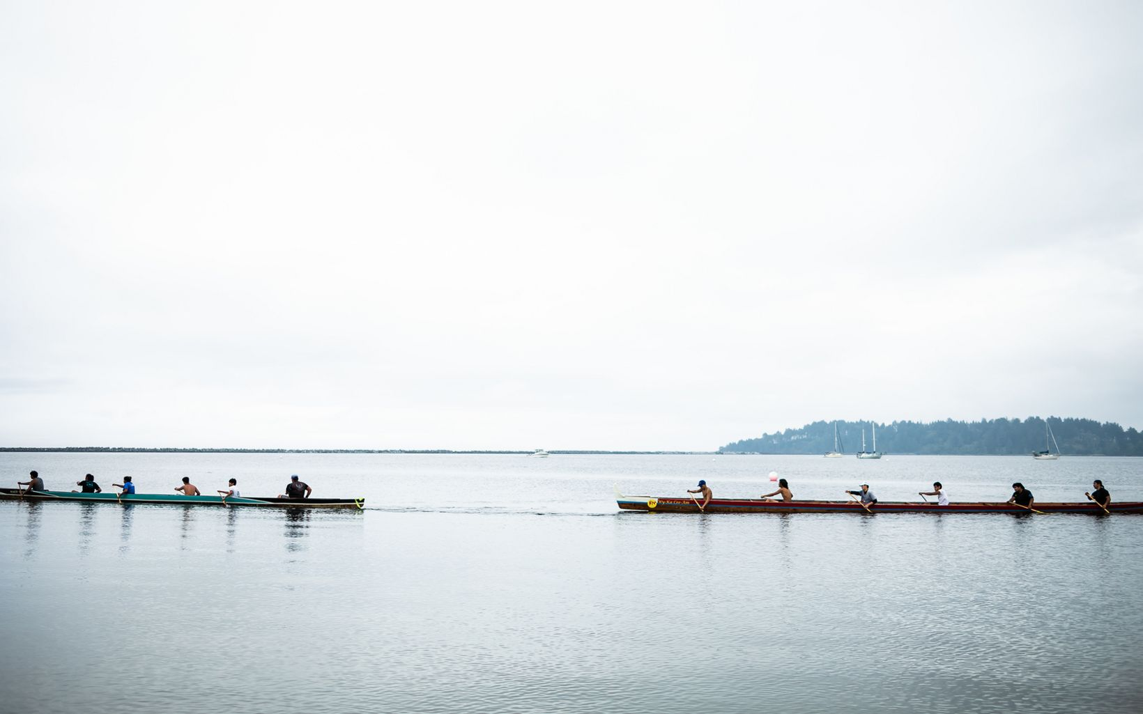 Travel by canoe was and remains a pivotal practice for the tribe, and many tribal members are skilled mariners and navigators.