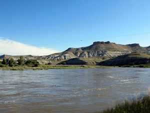 Upper Green River in Wyoming